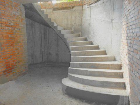 Бетонные лестницы прочны, надежны и экологически безопасны