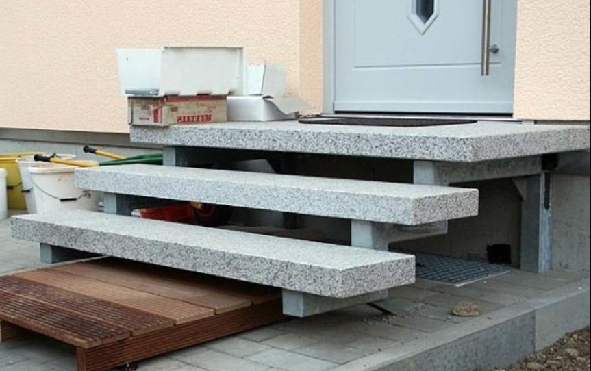 Картинки по запросу лестница крыльцо для бани из бетона