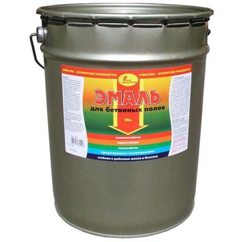 Эмаль износостойкая для бетонных полов