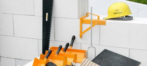 Инструменты для работы сгазобетонными блоками