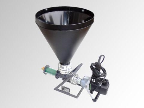 Компактный шнековый насос для раствора без крупного заполнителя