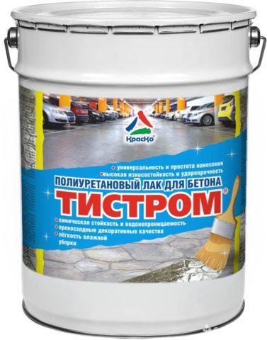 Лак для бетонного пола