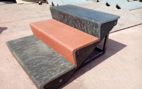 Накладные бетонные ступени для лестниц, размеры гостовские