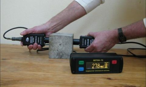Неразрушающая проверка прочности бетона