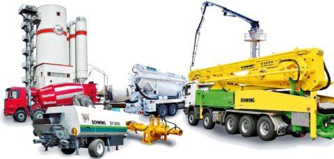 Оборудование для монолитного бетона