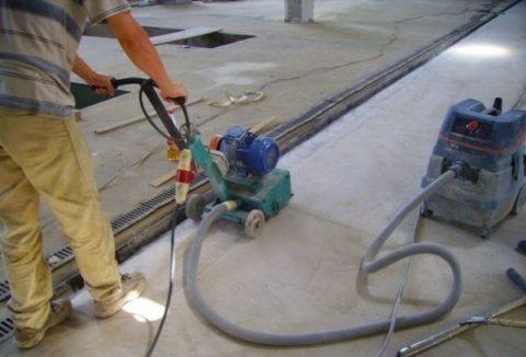 Отделка кромок бетонной поверхности