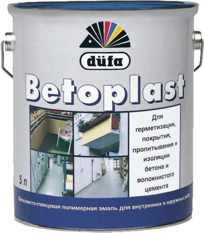Полимерная эмаль для бетона