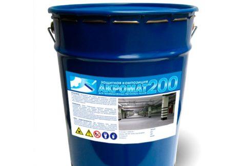Полиуретановая эмаль для промышленных бетонных полов