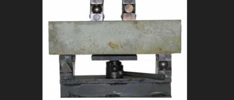 Прибор определения прочности бетона на растяжение при изгибе