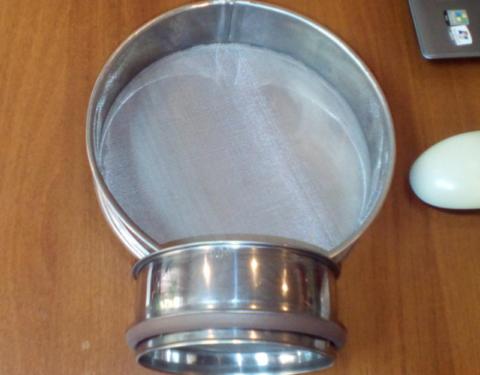 Сито диметром 0,08 для определения тонкости помола