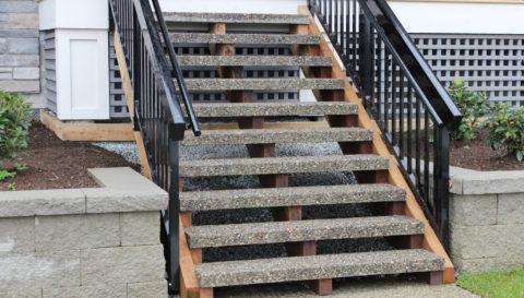 Степени бетонные для крыльца
