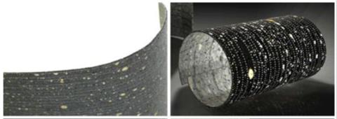 Светопрозрачный бетон настолько тонок, что напоминает лист плотной бумаги