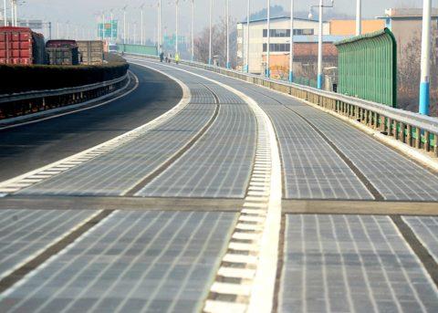 Трасса из прозрачного бетона