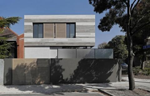 Забор из монолитного бетона