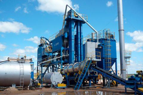 Завод попроизводству литого асфальта