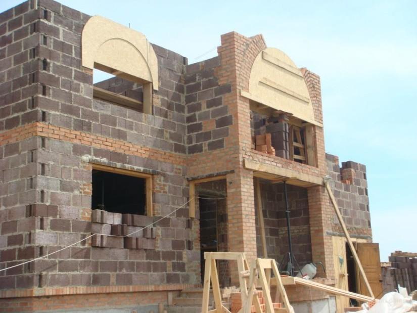 Строительство частного дома изблоков