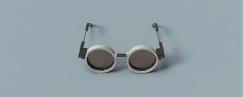 Бетонные очки – безукоризненная работа