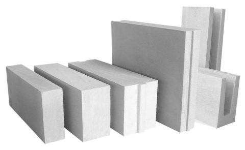 Блоки изячеистых бетонов обладают разнообразием форм иразмеров
