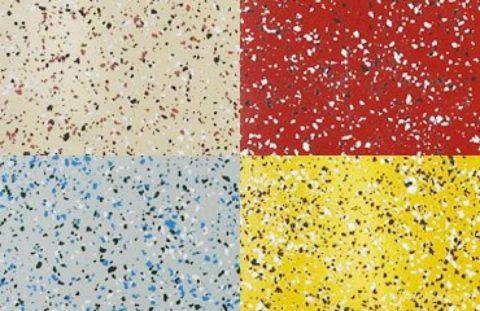Эпоксидные краски с декоративными включениями