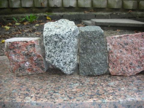 Грубо обработанный камень
