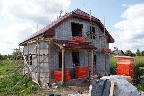 Керамзитобетонные блоки: строительство домов