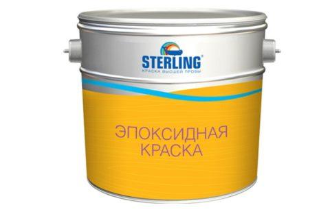 Краска для бетона эпоксидная