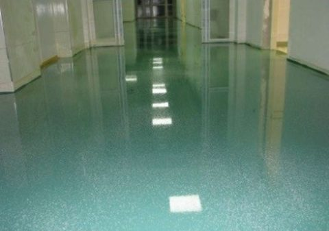 Краска для бетона на эпоксидной основе на полу
