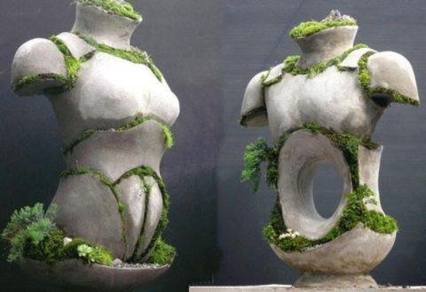 Некоторые скульптурные решения, как напредставленномфото,отличаются весьма оригинальным концептуальным стилем