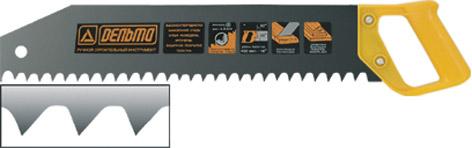 Ножовка для ячеистого бетонаДельта