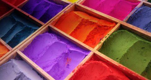 Пигменты для производства красок