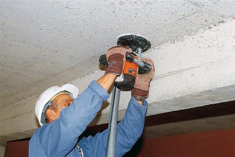 Подготовка поверхности бетона кокрашиванию