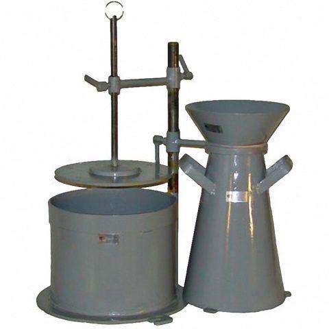 Прибор для определения жесткости бетонной смеси