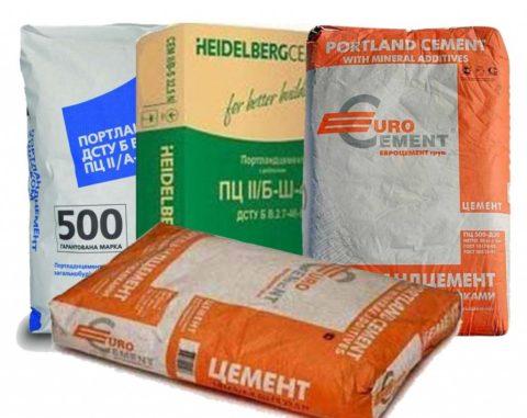 Современный рынок предлагает широкий выбор как производителей цемента, так иассортимента продукции