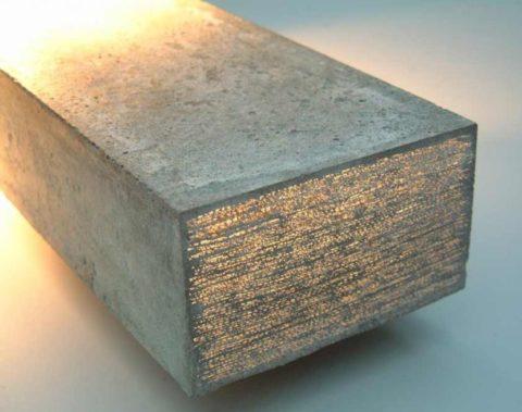 Стеклобетонный блок
