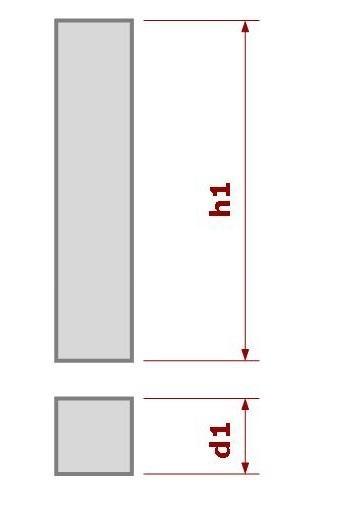 объем бетона прямоугольника