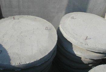 Крышка для бетонного кольца без отверстий