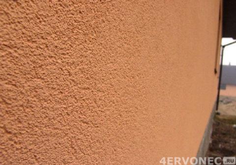 Акриловая камешковая штукатурка