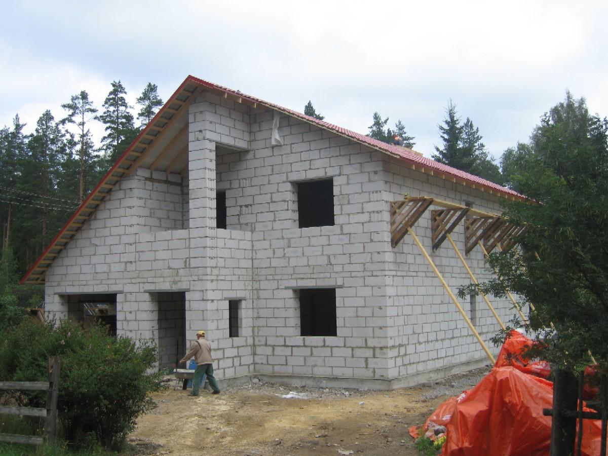 Как построить дом из газоблоков своими руками фото 857
