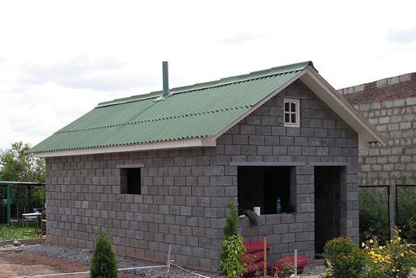 Дачные домики из керамзитобетона купить 1 куб бетона спб