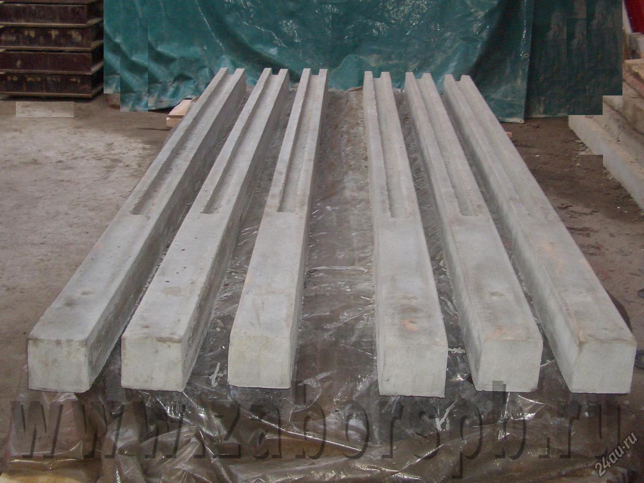 самодельные бетонные столбы для забора
