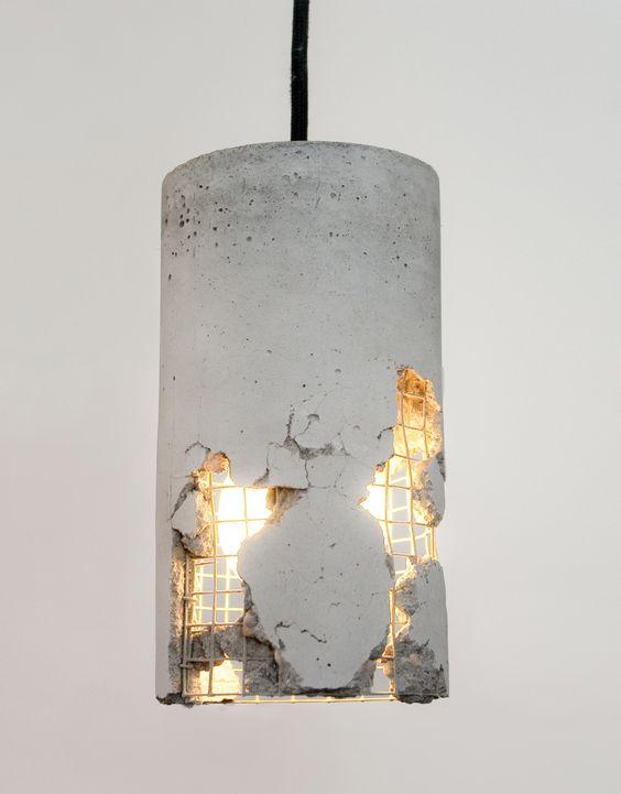 Люстра из бетона вибрационный бетон