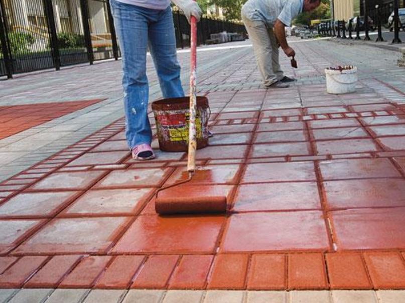 красят ли бетон