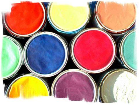 Цветовая гамма красок для бетонного пола ежегодно расширяется