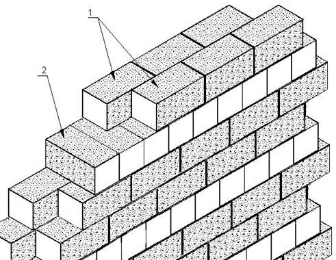 способ кладки блоков