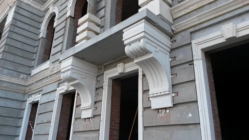 Фасадный декор из фибробетона технология бетона спбгасу
