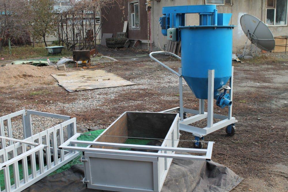 купить оборудование для производства газобетонных блоков