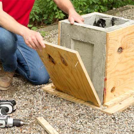 Форма для изготовления вазона из бетона купить конгломерат купить бетон