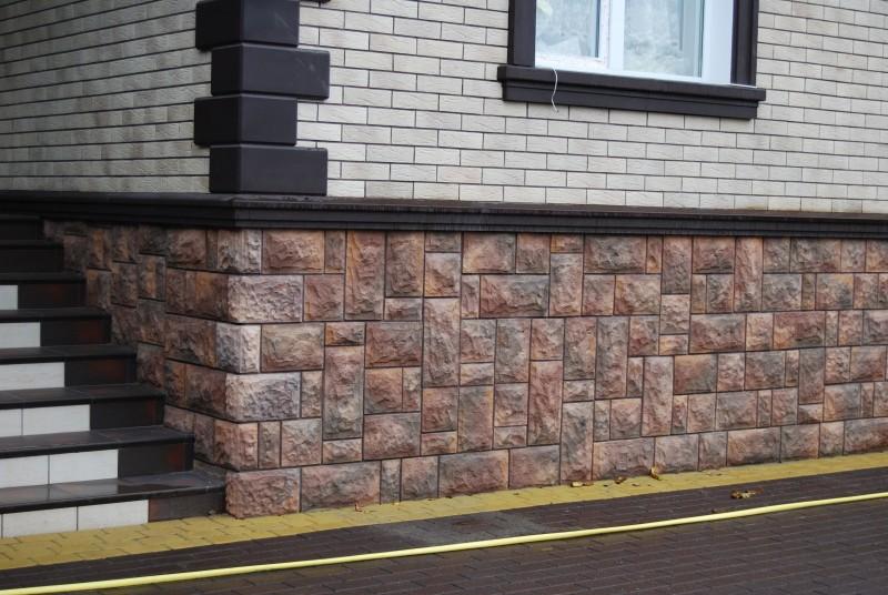 бетонная плитка для цоколя