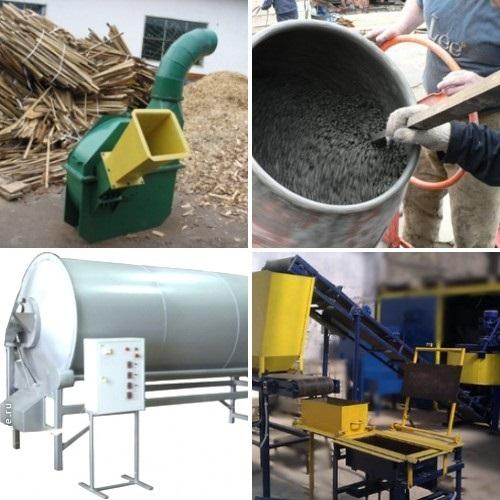 производство арболита в домашних условиях