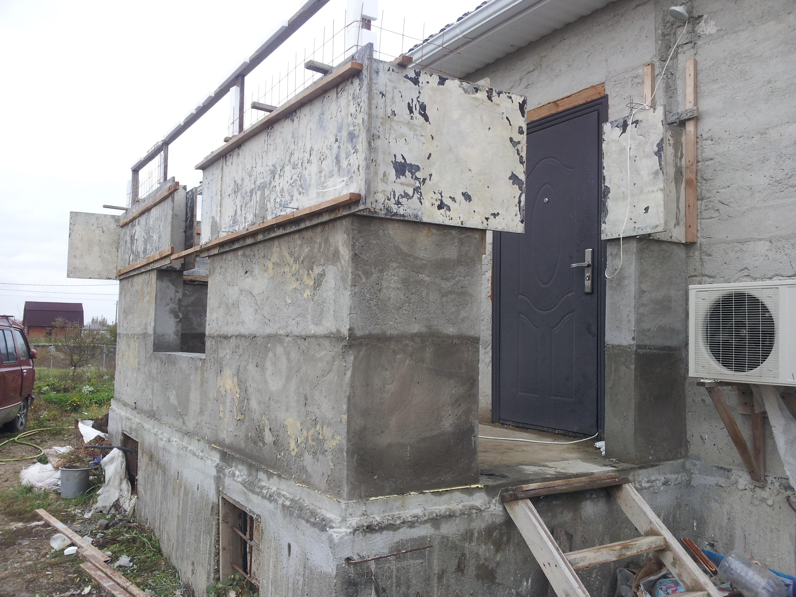 пенобетонный монолитный дом